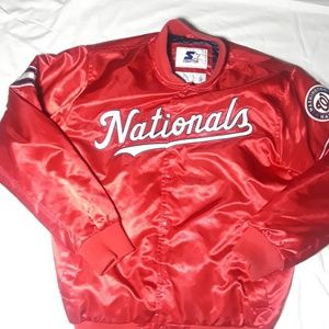 Starters Washington National Jacket